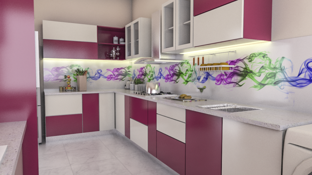 Once You Have Decided On The Design And Colours For Your Kitchen, Ensuring  That The Combination Is Soothing To The Eye And The Colours Harmoniously  Blends ...